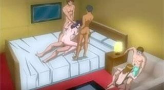 Ненасытная / Аморальная жена / Insatiable / Haitoku Tsuma [Ep 2] (2005)