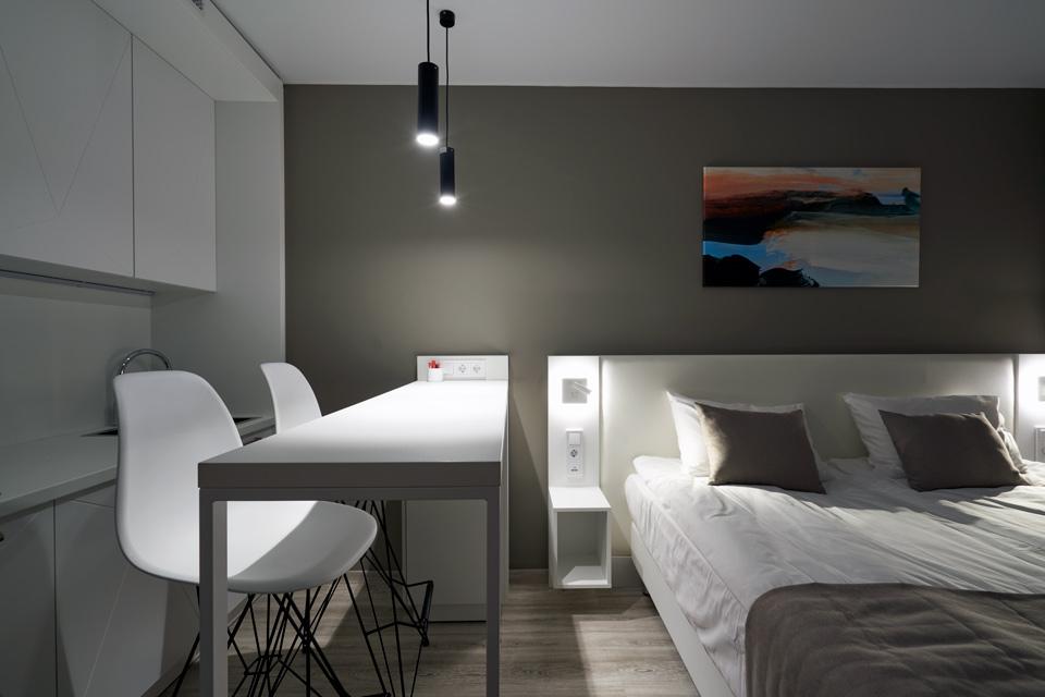 Апартаменты в апарт-комплексе ВАЛО