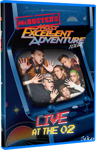 McBusted's - Most Excellent Adventure Tour (2015, Blu-ray)