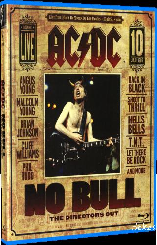AC/DC - No Bull Live in Madrid (The Режиссер's Cut) 1996 (2008, Blu-ray)
