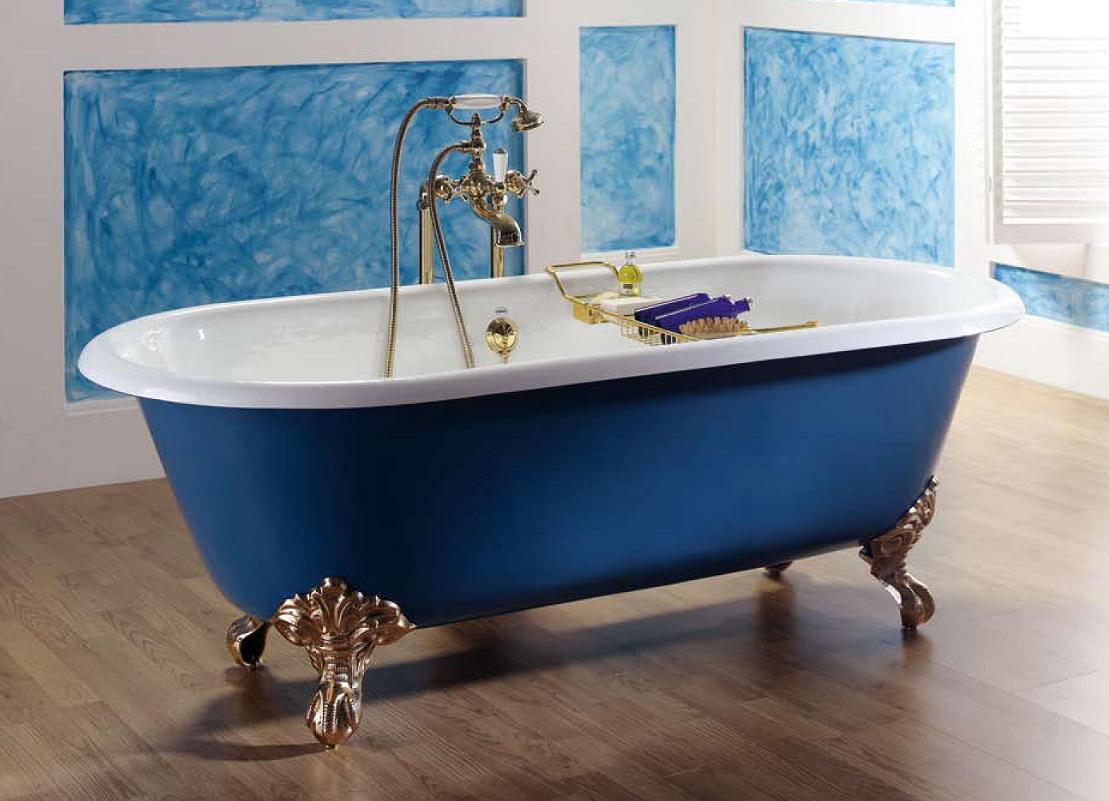 Преимущество чугунных и акриловых ванн