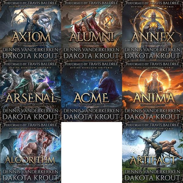 Artorians Archives Series Book 1-8 - Dennis Vanderkerken, Dakota Krout