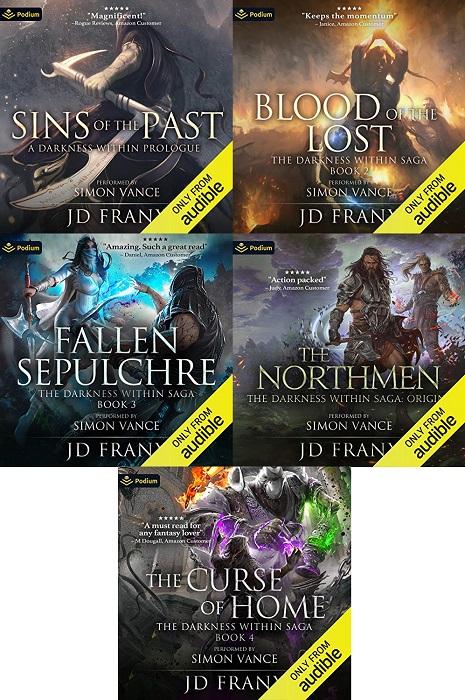 The Darkness Within Saga Series Book 0.5-4 - JD Franx