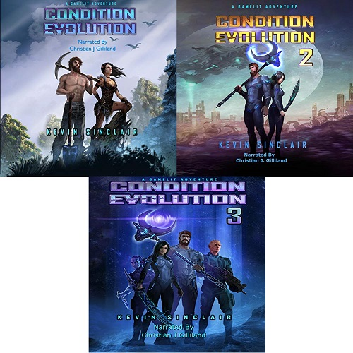 Condition Evolution Series Book 1-3 - Kevin Sinclair