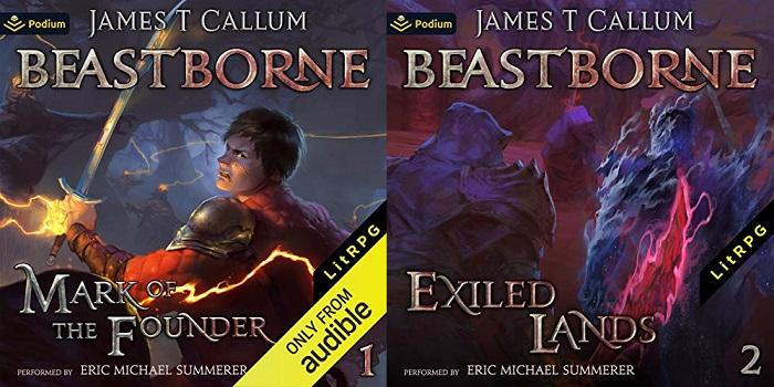 Beastborne Chronicles Series Book 1-2 - James T. Callum