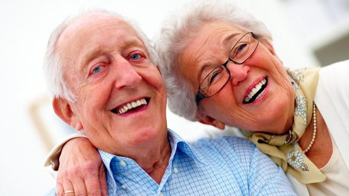 Пенсионеры в Румынии