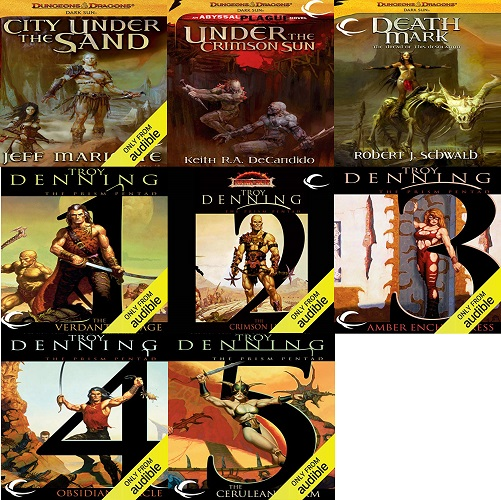 Dungeons and Dragons/Dark Sun Series Books 1-8 - Jeff Mariotte, Keith R. A. DeCandid