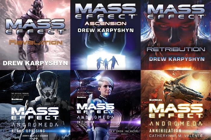 Mass Effect - Series Books 1-6 - Drew Karpyshyn/Catherynne M. Valente/Jason M. Hough, K. C. Alexander/Mac Walters, N. K. Jemisin