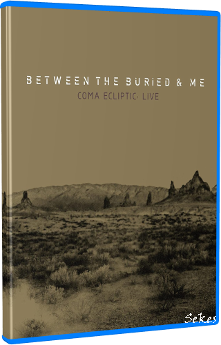 Between the Buried and Me - Coma Ecliptic Live (2017, Blu-ray)