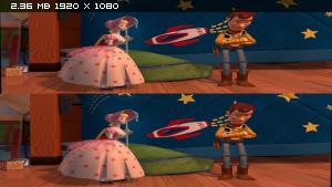 История игрушек 2 в 3Д / Toy Story 2 3D Вертикальная анаморфная
