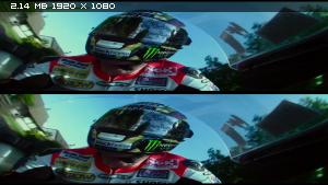 [Мотоспорт] TT3D: Closer to the Edge 3D / 3Д (Richard De Aragues) Вертикальная анаморфная