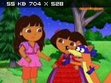 Рождественское приключение Даши / Dora's Christmas Carol Adventure (2009) SATRip