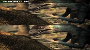 Планета динозавров: Совершенные убийцы в 3Д / Planet Dinosaur: Ultimate Killers 3D Вертикальная анаморфная