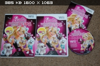 Barbie: Groom and Glam Pups / Barbie: Fun and Fashion Dogs [PAL] [Wii]