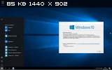 Windows 10 Education, Enterprise, Pro, Home, SL 14393.103 LITE Can add Language 5x1 by Lopatkin (x86-x64) (2016) Rus