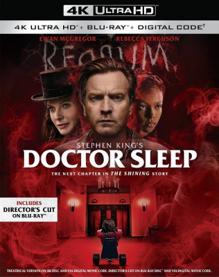 Доктор Сон / Doctor Sleep (2019) UHD BDRip 2160p | 4K | HDR | Театральная версия | iTunes