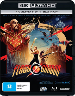 Флэш Гордон / Flash Gordon (1980) UHD BDRemux 2160p | 4K | HDR