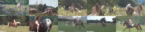 eec64a710020d1d88307623ea36b9074 - Beautiful Sexy Girl Riding Horse